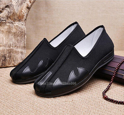 Kung Fu Martial Arts Tai Chi Shaolin Monk loafers shoes slipper Footwear Men's