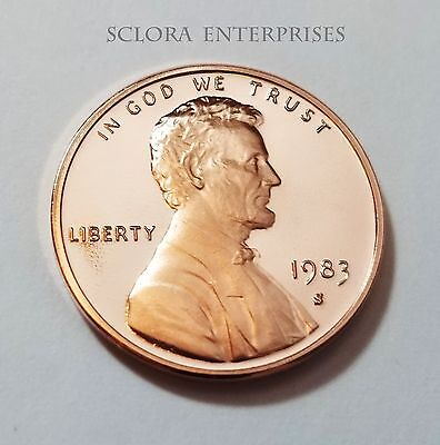 1983 S Lincoln Memorial *Proof* Cent / Penny  **Free Shipping**