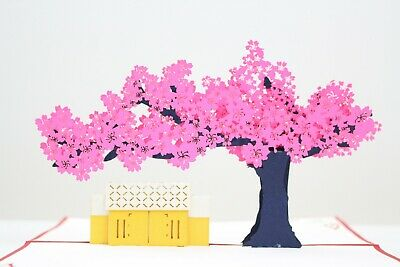 3D Pop Up Card - Love/Anniversary/Birthday/Flower/Tree