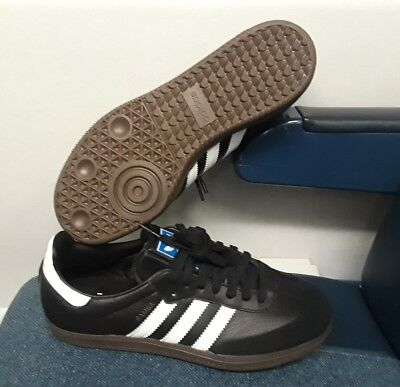 15c44bcc0 Adidas Men's Originals Samba Og Black/White/Gum Sneakers Bz0058 Size: 6