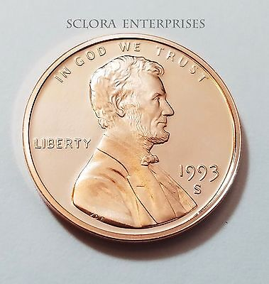 1993 S Lincoln Memorial *Proof* Cent / Penny  **Free Shipping**