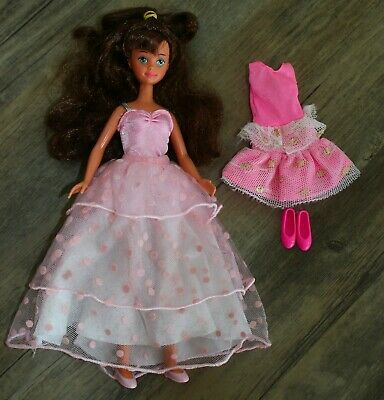 Barbie/Skippers Friend- Pretty in Pink COURTNEY Doll-Vtg 1987 extra outfit