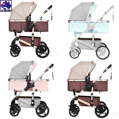 NEW 3 IN 1 Baby Pram Stroller Shock absorption two-way Stroller BHC0314