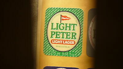 Old British Beer Label, Allied Brewery Burton On Trent, Light Peter Lager