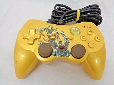 Mortal Kombat Scorpion Fatality Controller for Playstation 2 PS2 Console System