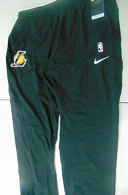 7e6b601f0 NIKE NBA AUTHENTIC Lakers black tear away warm up pants Size XL tall ...