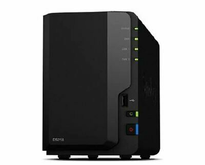 Synology DiskStation DS118 2-Bay 3.5in Diskless 1xGbE NAS (Tower, HMB)