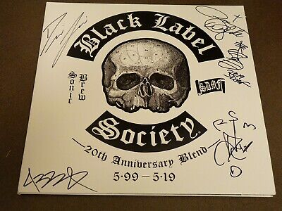 """Black Label Society Sonic Brew 20Th Anniversary 2Lp Picture Disc """"Signed"""" New!"""