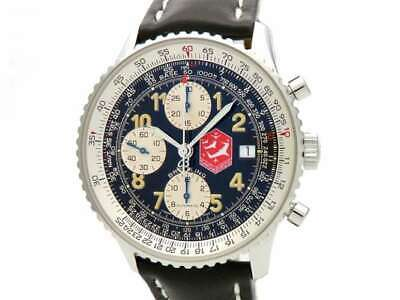 Free Shipping Pre-owned Breitling Old Navi Timer Snowbirds Limited Watch A13022