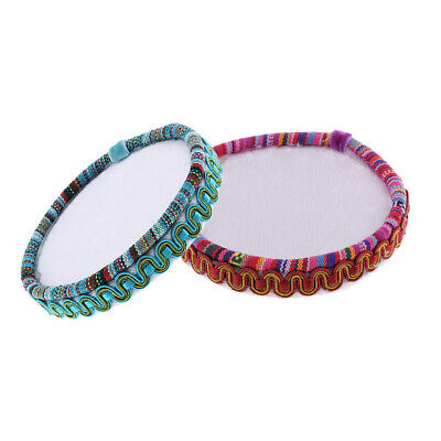 2x Wooden Embroidery Bead Beading Mat Board Tray For Sewing Work Needlecraft