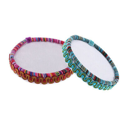 2x Wooden Beading Board Tray Mat Bead Organizer Sewing Jewelry Making Tools