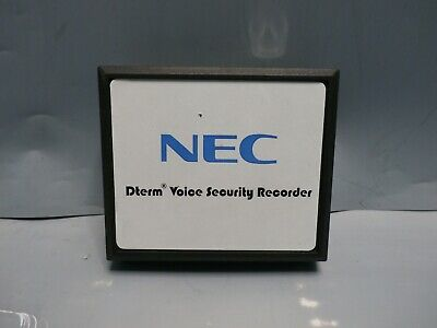 NEC DTERM VOICE SECURITY RECORDER Stock# 780275  Used in working condition