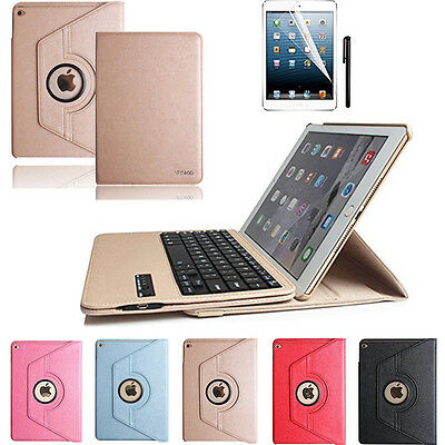 360° Rotate Folio Leather Case Cover & Wireless Keyboard For iPad Pro 9.7 2016