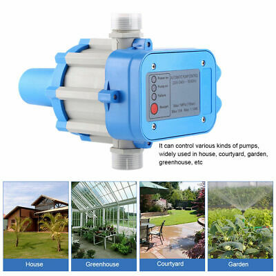 Automatic Electronic Pump Pressure Controller Switch Control For Water Pump 110V