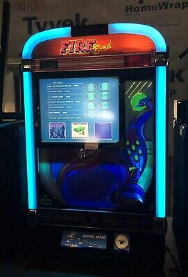 NSM Digital Firebird Jukebox Coin Operated 5000+ Songs With Videos
