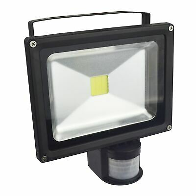 20W COB LED Floodlight Motion Sensor Security Light Outdoor Lamp Spotlight