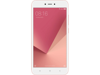"Móvil Smartphone Xiaomi Redmi Note 5A Prime, 5,5"" HD, 16MP, 2GB RAM, 32GB,  Rosa"