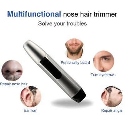 AU Men's Electric Eyebrow Nose Ear Hair Trimmer Clipper Shaving & Face Care Tool