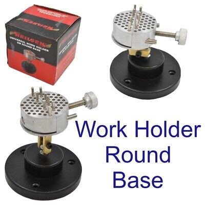 Work Holder Vice Clamp Neilsen Universal Grip on Round Base CT4782