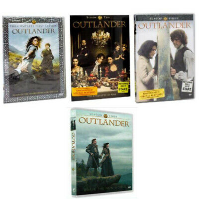 Outlander: The Complete Series Season 1-4 ( DVD, 2019, 17-Disc Box Set ) 1 2 3 4
