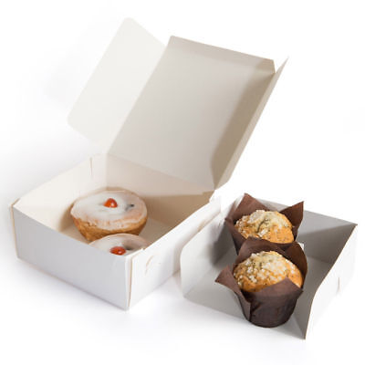 """Cake Boxes & Cupcake Boxes  All Sizes Available 6"""", 8"""", 9"""" 10"""" Birthday Wedding"""
