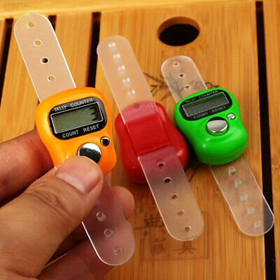94AC Ring Finger Counter Digital Counter Tally Number Counting Stitch Marker