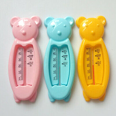 Baby Floating Fish Water Thermometer 10-50C Plastic Float Bath Toy Tub Sensor ZY