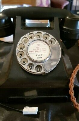 Vintage GPO Bakelite Telephone - fully working. Gorgeous piece for any desk/home