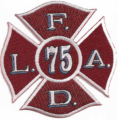 """LAFD Station 28 New Design Patch """"Porter Ranch"""" Fire Patch"""