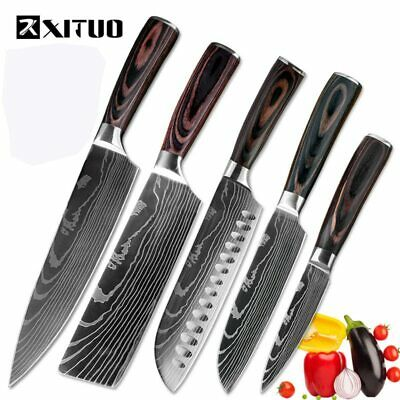 XITUO high quality chef knife 7CR17 High Carbon Stainless Steel Japanese Series