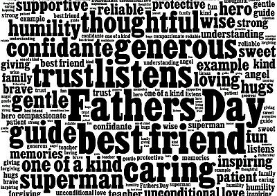 Cool Father's Day Poster Size A4 / A3 Grand Father Dad Daddy Poster Gift #8781