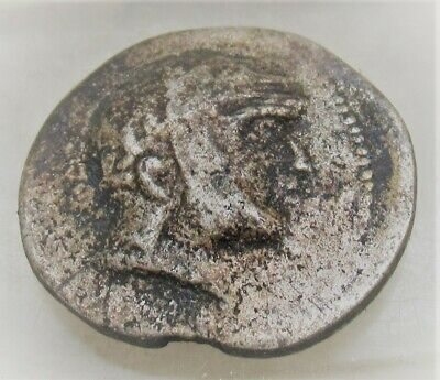 Ancient Parthia Ar Silver Coin Tetradrachm Unresearched