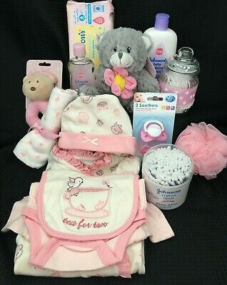 Job Lot Of Baby Girl Items For Gift Hamper or Gift Box