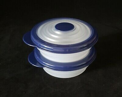 Free Shipping Tupperware Small Stuffables 1 Cup/240 ml Set of 2 Flex Seal NEW