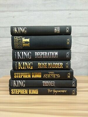 Stephen King - 7 Books Collection!!!!!!