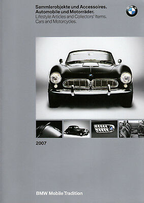 Catalogue BMW 2007 Game or Collectors Items & Accessories Automobiles