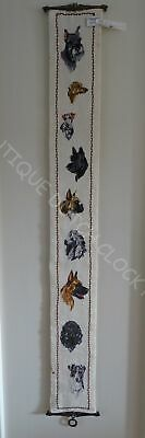 House Bell Pull Cord With Dogs Nice!