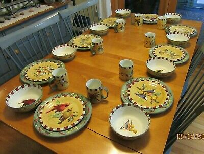 8 Place Settings LENOX WINTER GREETINGS EVERYDAY CHINA 32 Pieces