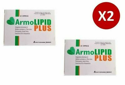 X2 Armolipid Plus 60 Compresse - 2 CONFEZIONI sped.24H