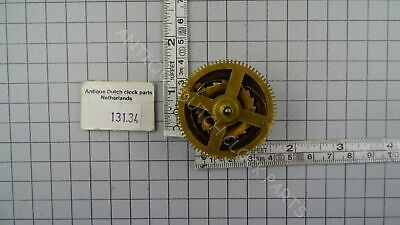 Chain Gear Hubert Herr Clockwork Zaandam Clock Strike Side