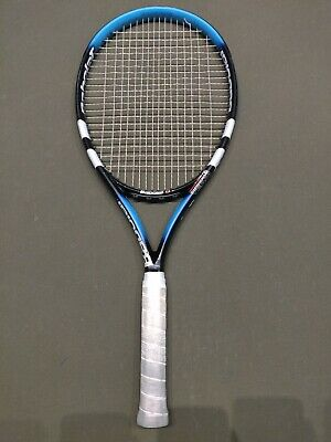 BABOLAT PURE DRIVE OVERSIZE 110 CORTEX Tennis 4 3/8 Syn Gut 58#