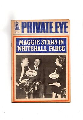 Private Eye Magazine 1984 issue 577