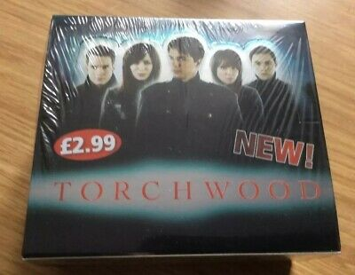 TORCHWOOD TRADING CARDS 1 x New / sealed RETAIL BOX (Doctor Who) BBC 2006 TV