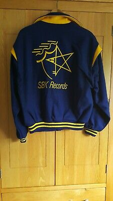 Bomber Jacket SBK Records 1980s