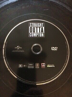 Straight Outta Compton (DVD, 2015) DISC ONLY   Dr. Dre  Eazy-E  Ice Cube