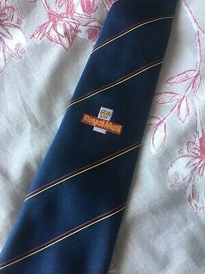 Vintage Royal Mail Tie With Logo - New/Old Stock! Corporate Post Office Uniform