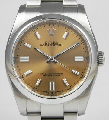 Rolex Oyster Perpetual 116000 - White Grape Dial - Mint Condition (2018)