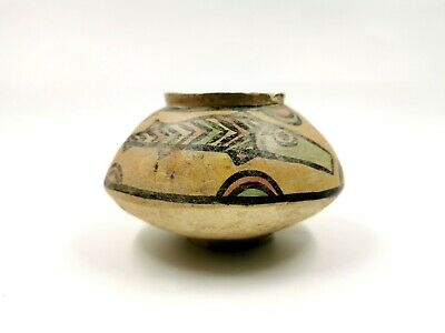 Superb Indus Valley Ca.2200 Ad Terracotta Vessel With Fish Motifs R154