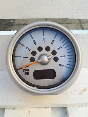 R50 R52 R53 Mini Cooper S One Rev Counter