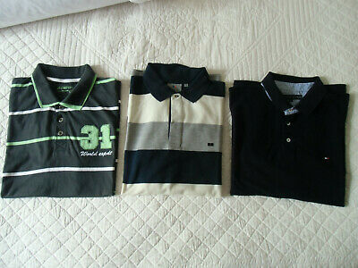 lot 3 tee shirt homme XXL Tommy Hilfiger Brice armand thierry